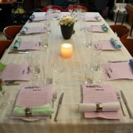 Table set and ready