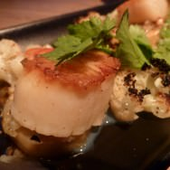 Scallops - what seems to never seen with Indian food.