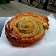 The perfect chocolate-pistachio escargot pastry