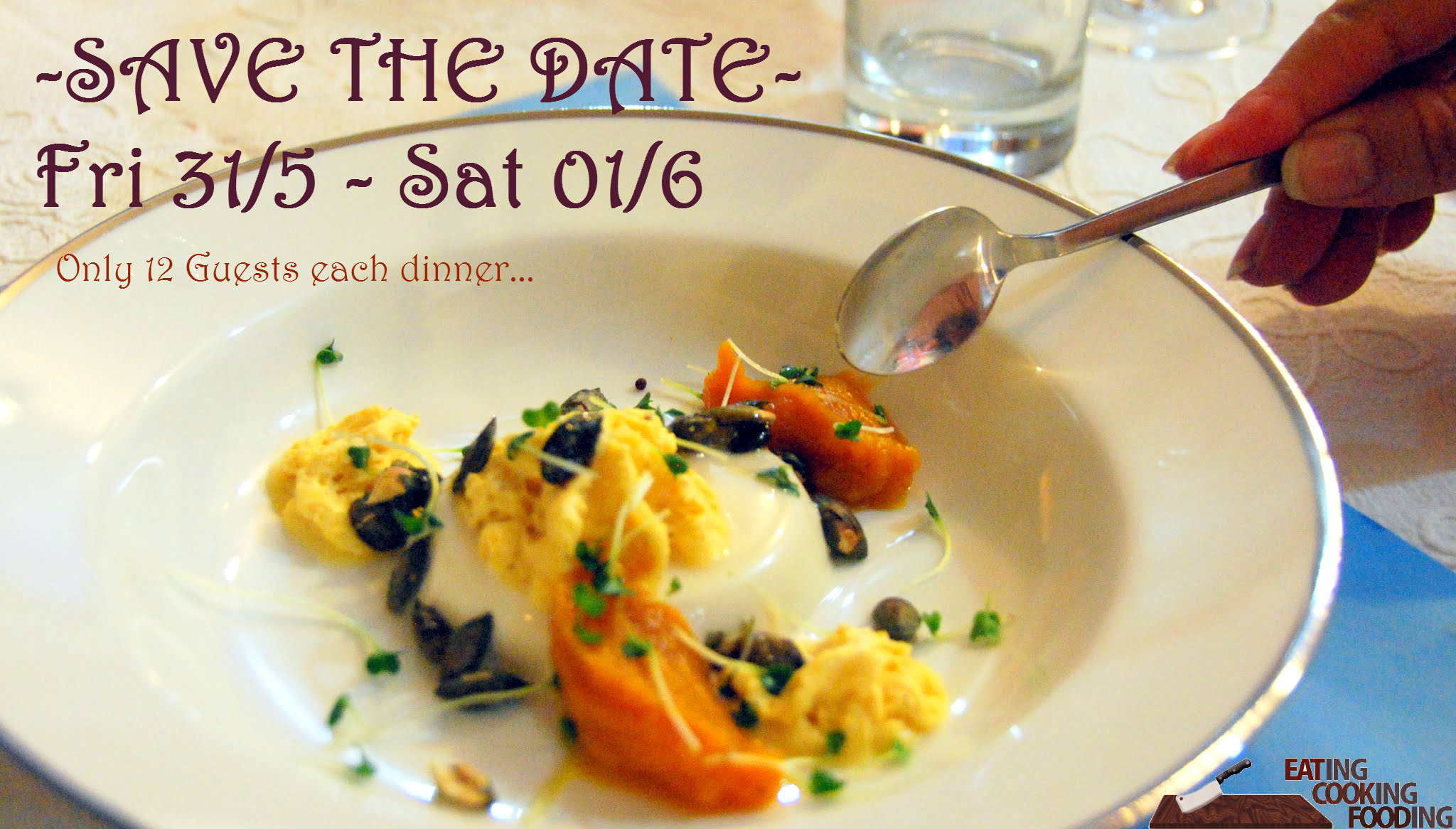 save the date may dinner