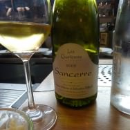 Sancerre Le Quarterons 2009. Very good and smooth.