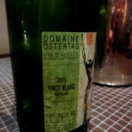 Domain Ostertag, Alsace, Pinot Blanc 2011