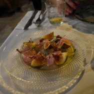 Raw Sea Fish with Yogurt and Fresh Figs (56 ILS). Is something missing there?