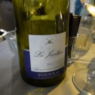 La Javeline, Vouvray 2011 (France) (140 ILS). It was dry but extremely fruity and fragrant